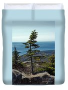 Life At 1530 Feet Absl Duvet Cover