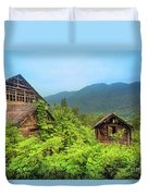Life In A Mountains Duvet Cover
