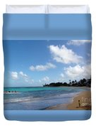 Life In The Country Hawaii Duvet Cover