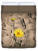 Life In The Desert Duvet Cover