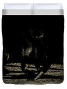 Life In The Shadows Duvet Cover