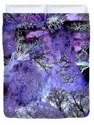 Life In The Ultra Violet Bush Of Ghosts  Duvet Cover