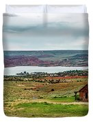 Life In Wyoming Duvet Cover