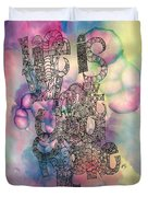 Life Is What You Make It Duvet Cover