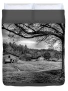 Life Leads Us Along Many Paths Duvet Cover