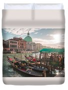 Life Of Venice - Italy Duvet Cover