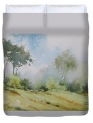 Life On The Edge Duvet Cover