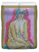 Life Study Of The Female Figure 07 Duvet Cover