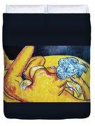 Life Study Of The Female Figure 15 Duvet Cover