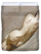 Life Study Of The Female Figure Duvet Cover by William Edward Frost
