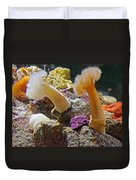 Life Under The Sea In Monterey Aquarium-california Duvet Cover