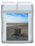 Lifeguard Hut Duvet Cover