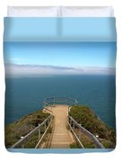 Life's Lookout Duvet Cover