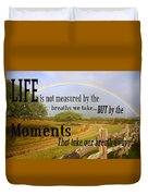 Life's Moments Duvet Cover