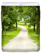 Life's Path Duvet Cover