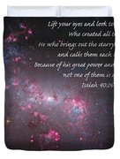 Lift Your Eyes Duvet Cover