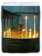 Light A Candle Duvet Cover
