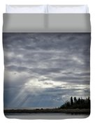 Light After The Storm Duvet Cover