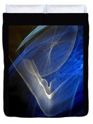 ''light And Blue Disc No.107'', Thu--17sep2015 Duvet Cover