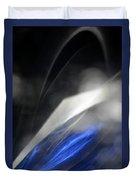 ''light And Blue Disc No.110'', Thu--17sep2015 Duvet Cover