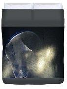 ''light And Blue Disc No.32'', Thu--10sep2015 Duvet Cover