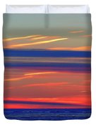Light And Dark Clouds  Duvet Cover
