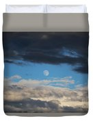 Light And Dark Moon  Duvet Cover