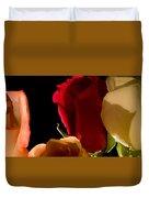Light And Roses Duvet Cover