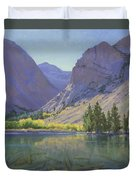 Light At Parker Lake Duvet Cover