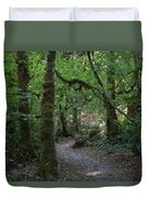 Light At The End Of The Path Duvet Cover