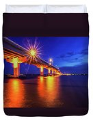 Light Bridge Duvet Cover
