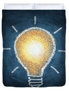 Light Bulb Design Duvet Cover