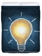 Light Bulb Design Duvet Cover by Setsiri Silapasuwanchai