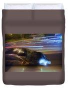 Light Car   Carrosse De Lumiere Duvet Cover