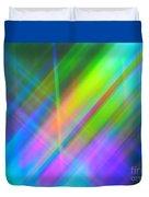 Light Color Hatch Duvet Cover