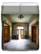 Light Come In - Deserted Castle Duvet Cover