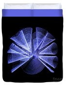 Light Curlers Duvet Cover
