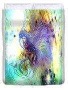 Light Dancer Duvet Cover