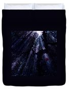 Light In The Darkness Duvet Cover