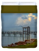 Light In The Sky Duvet Cover
