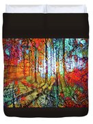Light In The Woods Duvet Cover