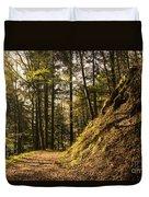 Light In The Woods Duvet Cover