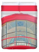 Light Of The Lighthouse Duvet Cover