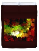Light On The End Of Darkness Duvet Cover
