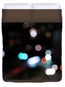 Light Orbs Duvet Cover