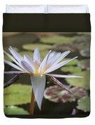 Light Purple Lily Duvet Cover