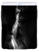 Light Shaft In Lower Antelope Canyon Duvet Cover