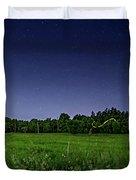 Light Show - Fireflies Vs The Stars Duvet Cover