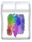 Light The Path Cool Rainbow 3 Dimensional Duvet Cover
