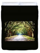 Light Through Live Oak Lane Duvet Cover
